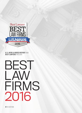 1cd16cb9995 2016 Best Law Firms by Best Lawyers - issuu