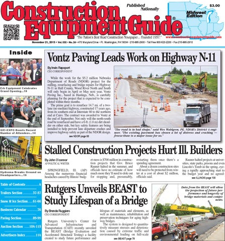 Midwest 24 2015 by Construction Equipment Guide - issuu on