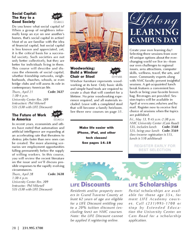 Strange Nmc Extended Education Winter Spring 2016 Class Catalog By Ibusinesslaw Wood Chair Design Ideas Ibusinesslaworg