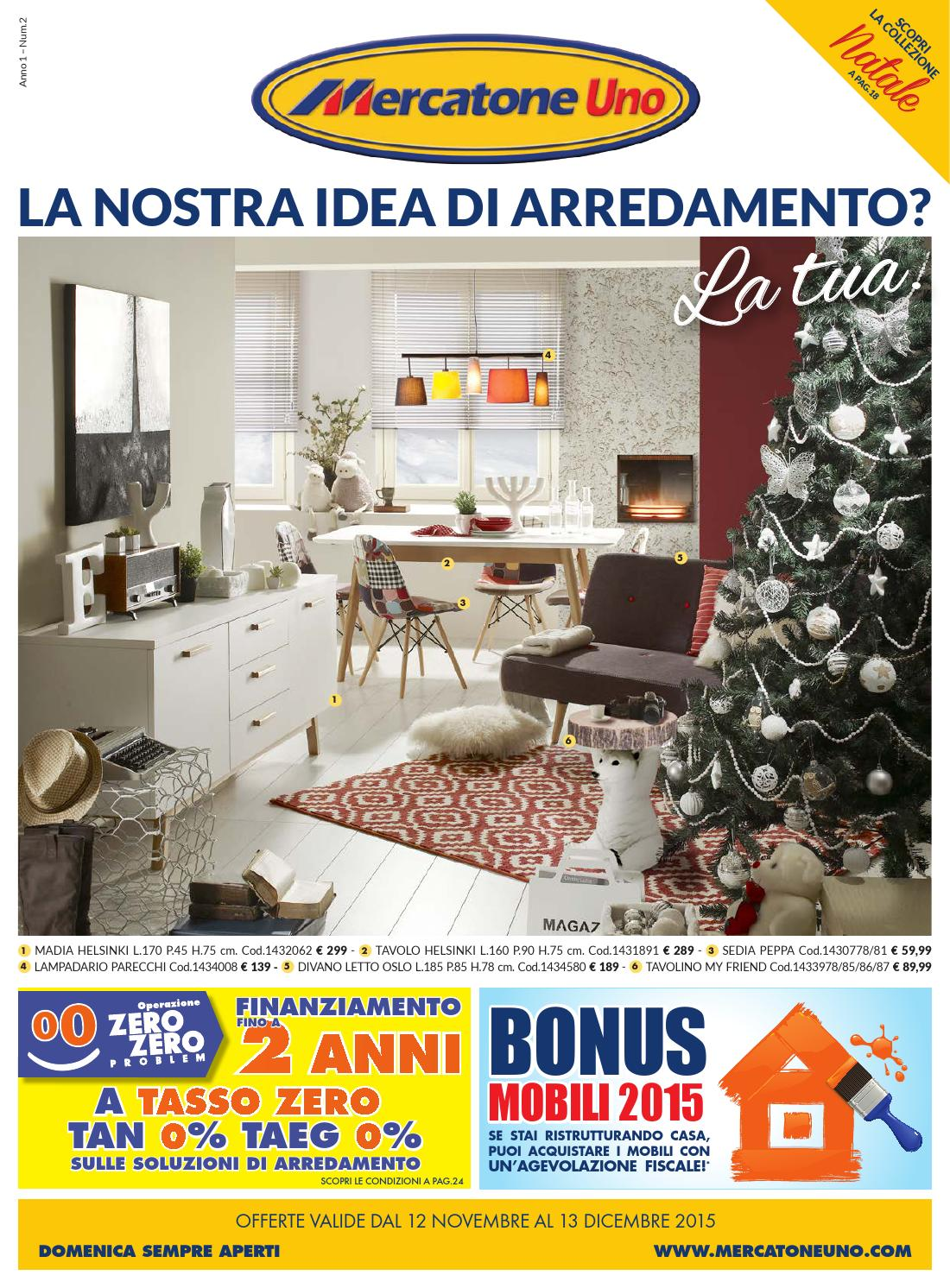 Mercatoneuno 13dic by volavolantino issuu for Mercatone uno madia
