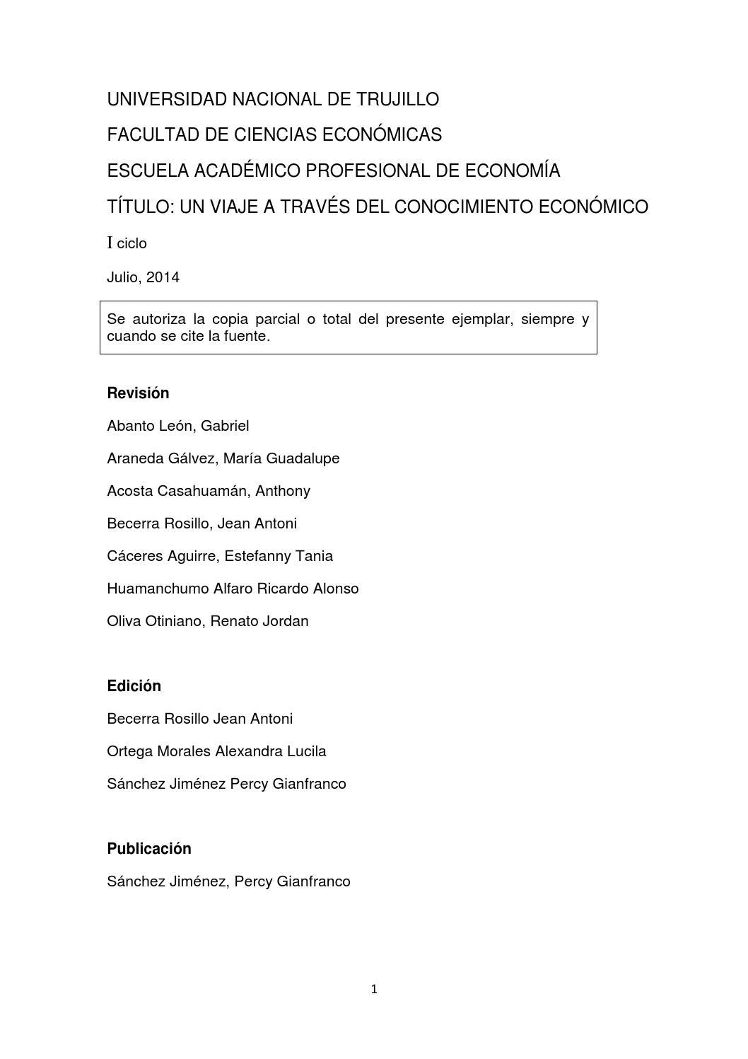 Artículos de economía. by Luis Anderson Julca Saucedo - issuu