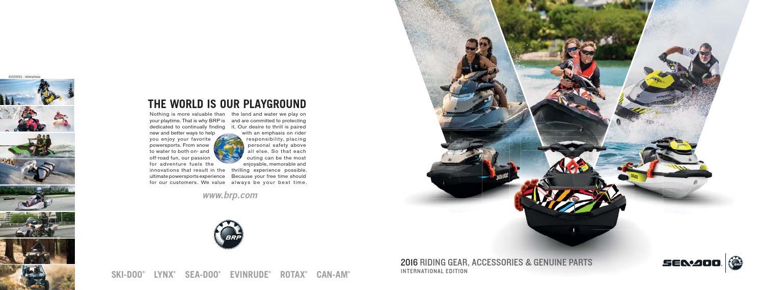 Sea-Doo PAC Catalogue 2016 AU-NZ