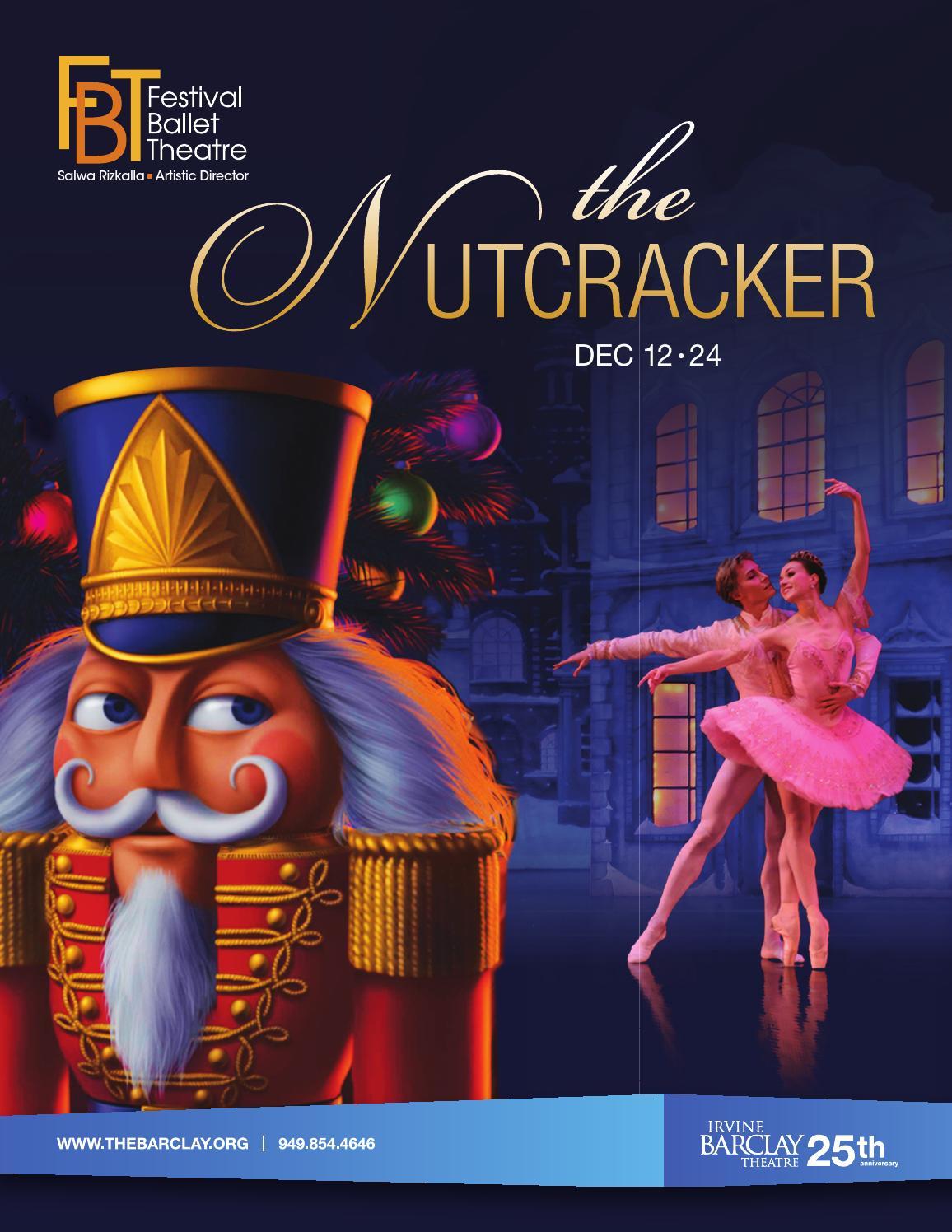 Festival Ballet Theatre's The Nutcracker Program Notes by