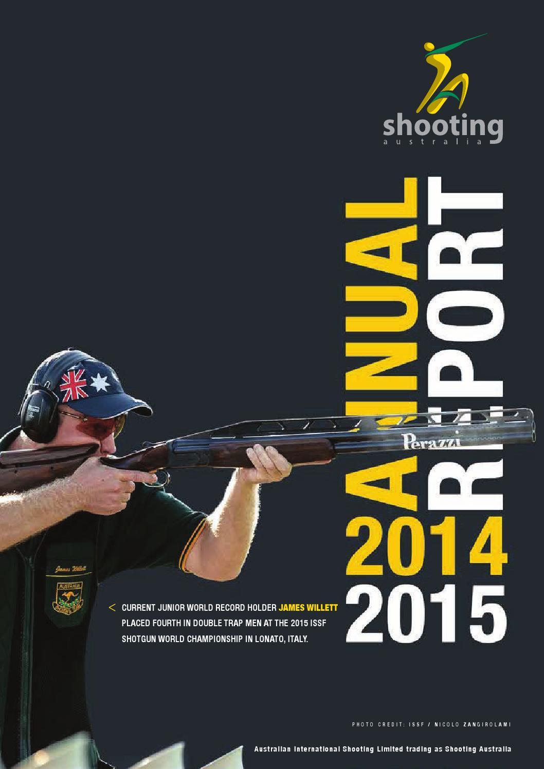 Aisl Shooting shooting australia annual report 2014 - 15shooting