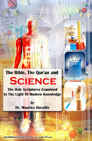 BOOK The Bible The Quran and Science DR Maurice Bucaille PDF