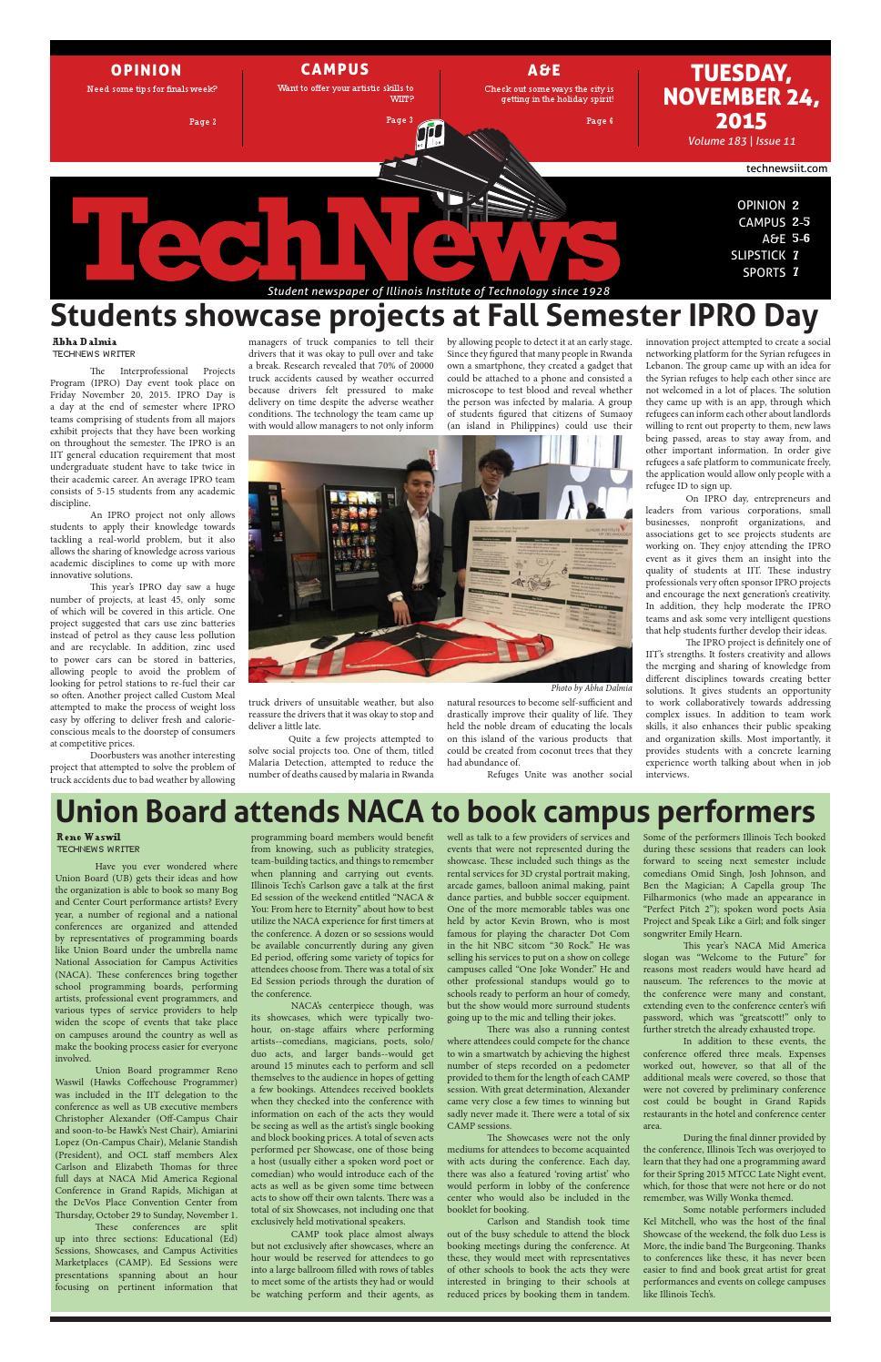 Volume 183, Issue 11 by TechNews - issuu