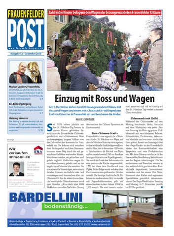 Frauenfelder POST - Dezember 2015 by «POST»Medien - issuu