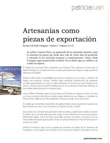Revista cartagena life style by Patricia Ruan - issuu