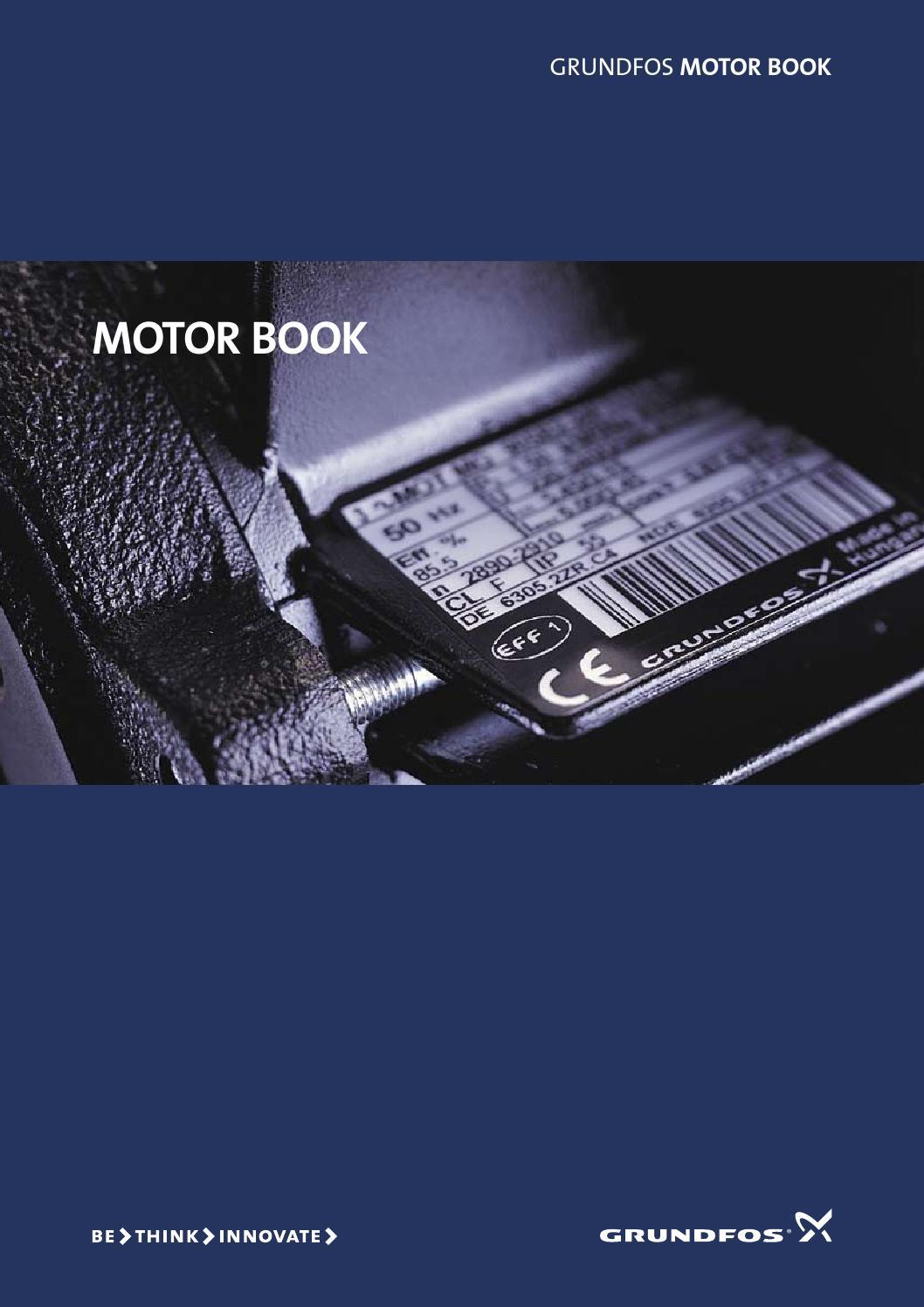 Grundfos Motor Book English By Ahmad Fikry Issuu 230v Wiring Diagrams