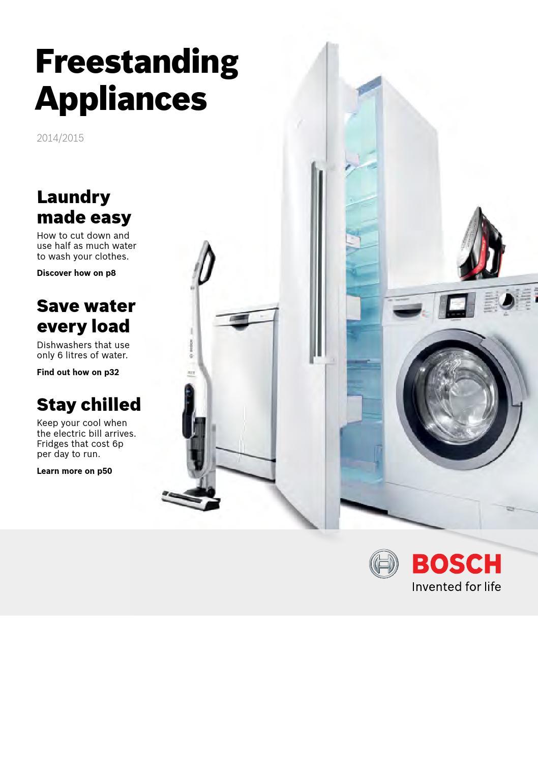 Bosch freestanding by ifillya kitchens bathrooms issuu buycottarizona Gallery