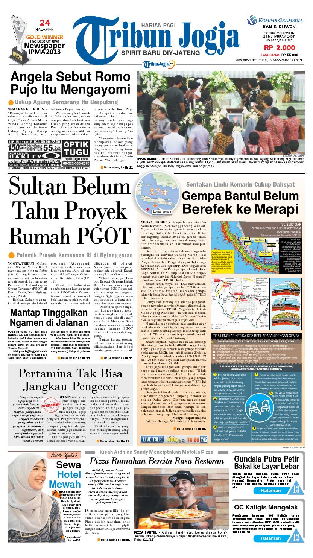 Tribunjogja 12 11 2015 By Tribun Jogja Issuu Strong Kangen Water Ph 115 Ukuran 1000 Ml Terapi Air Kelas Dunia Indonesia