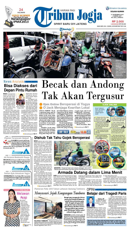 Tribunjogja 17 11 2015 By Tribun Jogja Issuu Produk Ukm Bumn Tenun Pagatan Kemeja Pria Biru Kapal