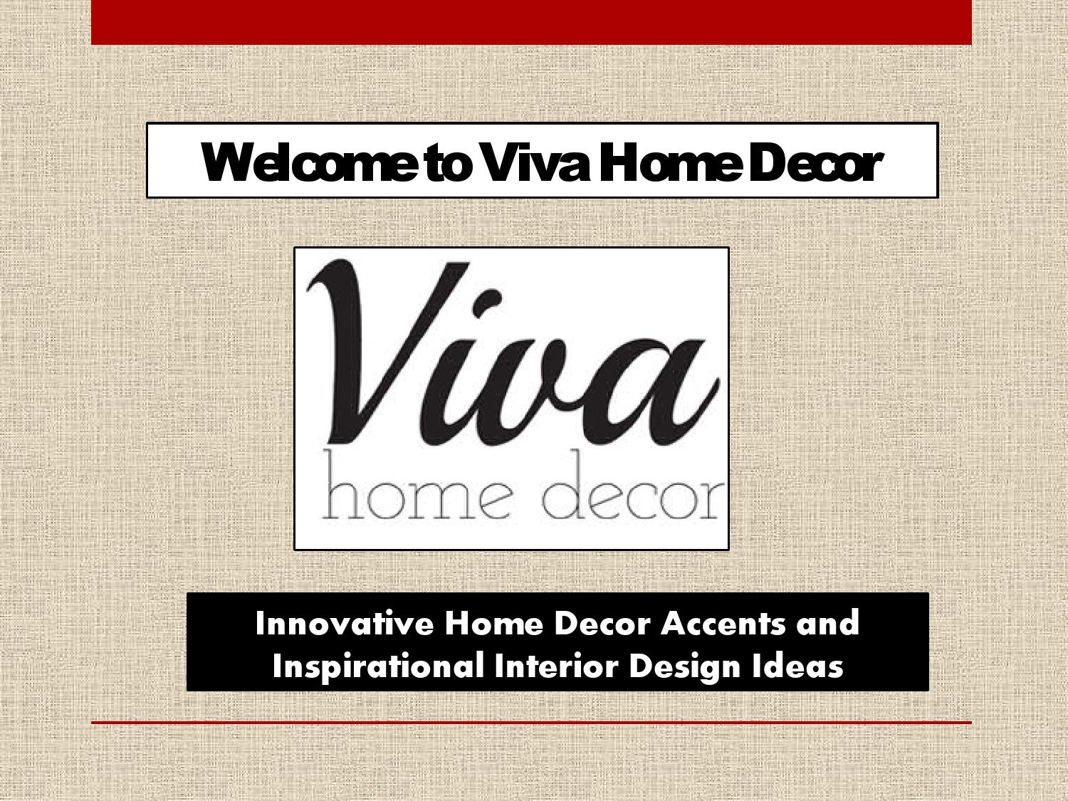 Wholesale Home Decor Accents Interior Design Ideas By Viva Home Decor Issuu