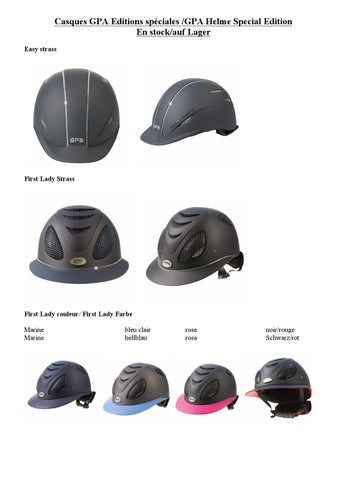 Gpa Helmets Special Editions By Hypostore Issuu