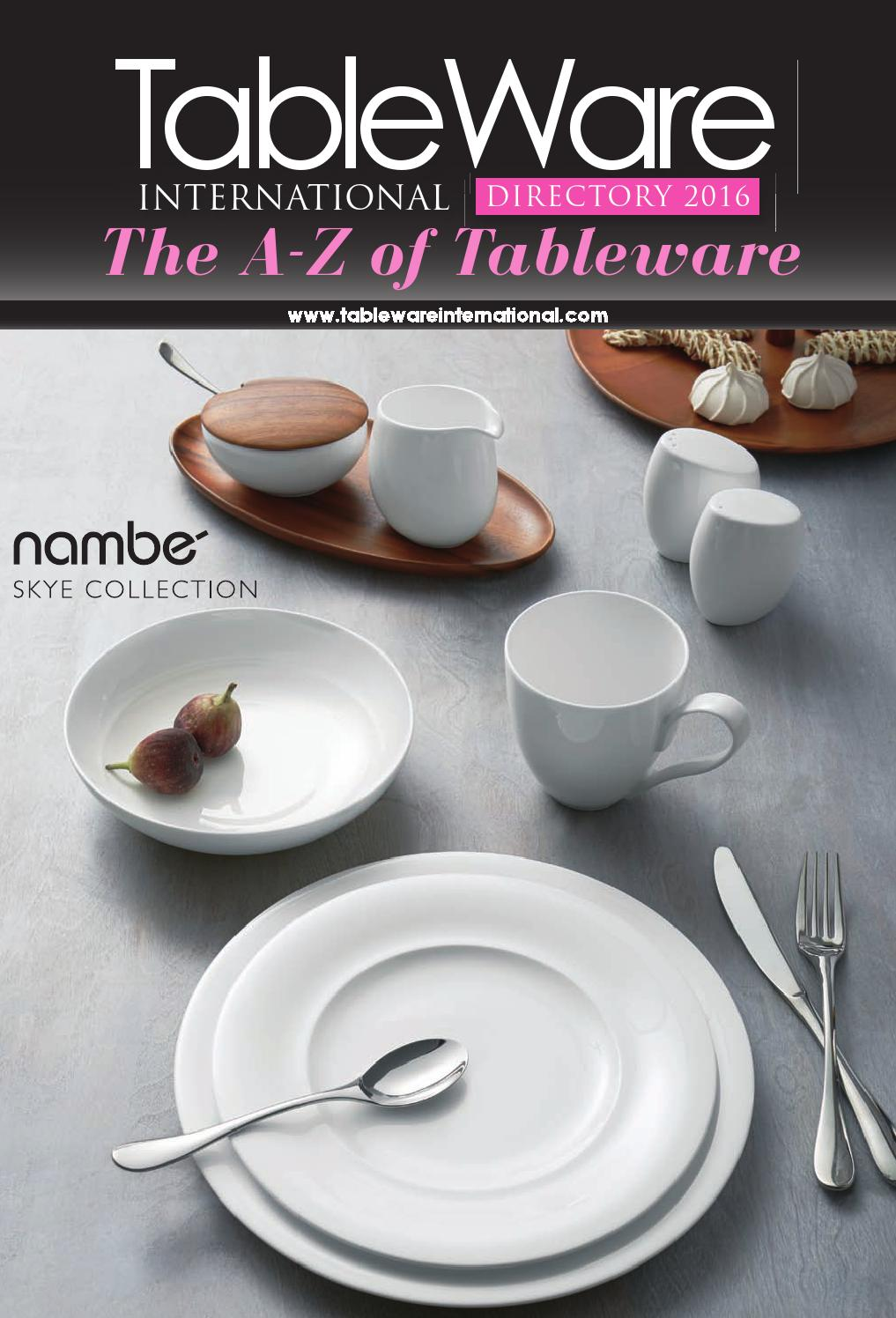 Tableware international directory 2016 by lema publishing for International decor brands