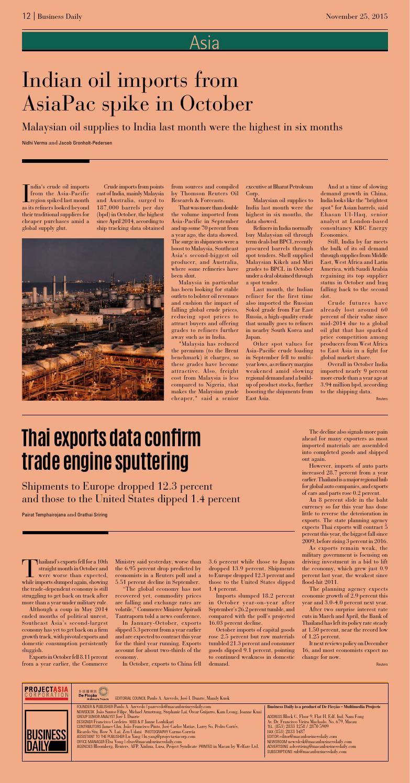 Macau Business Daily November 25, 2015 by Business Daily - issuu