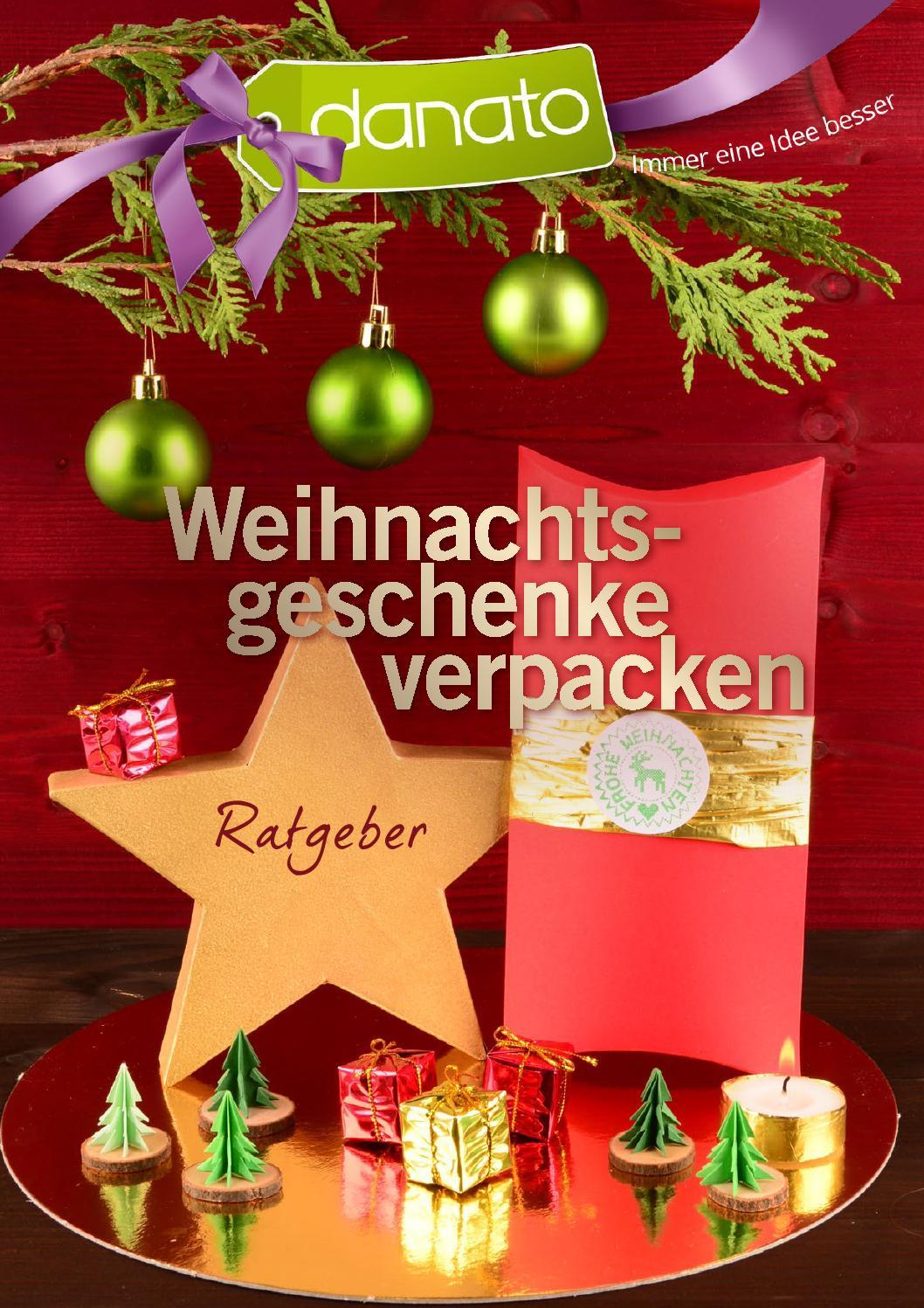 Danato Com Weihnachten.Weihnachtsgeschenke Verpacken Ratgeber Von Danato By Danato