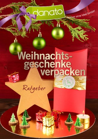 Danato Com Weihnachten.Weihnachtsgeschenke Verpacken Ratgeber Von Danato By Danato Issuu