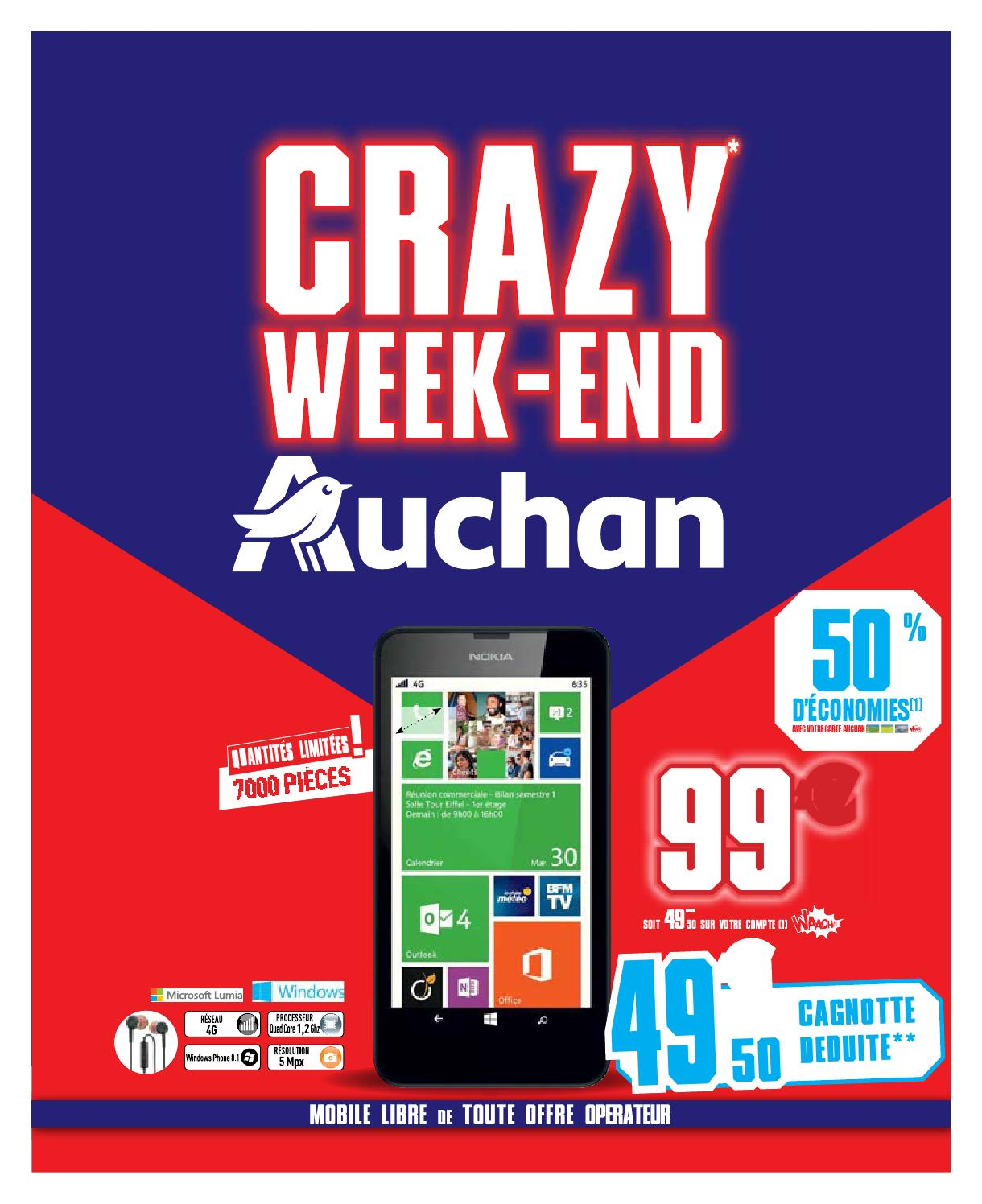 Auchan 2015 Crazy Week-End By Catalogues Black Friday