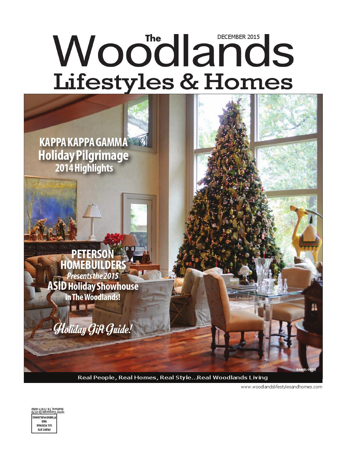 The Woodlands Lifestyles and Homes Dec 2015 by Lifestyles \u0026 Homes ...