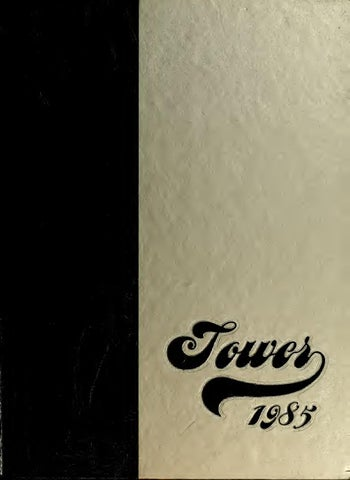 Tower 1985 by Northwest Missouri State University Archives - issuu 7e4e33d08b12