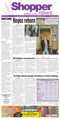 North East Shopper News 112515 By