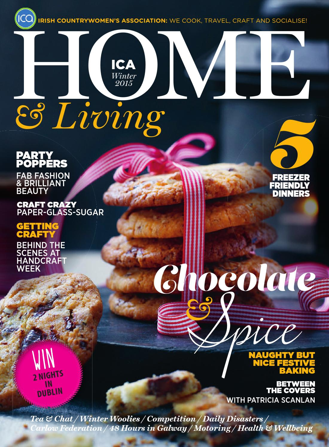 Ica Home Living Winter 2015 By Ashville Media Group Issuu Chilschool Vanila 800 Gr 2 Box