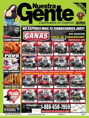 Nuestra Gente 2015 Edicion 47 Zona 6 by Nuestra Gente - issuu