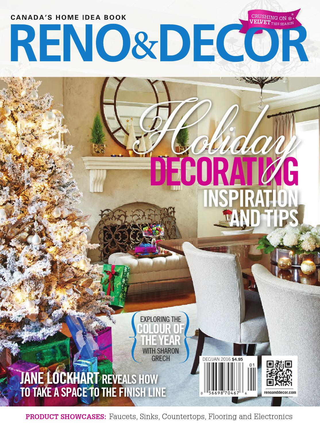 Reno U0026 Decor Magazine Dec/Jan 2016 By HOMES Publishing Group   Issuu