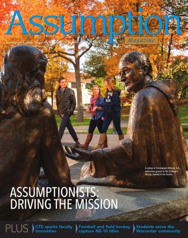 Ac Fall 2015 Magazine By Assumption College Issuu