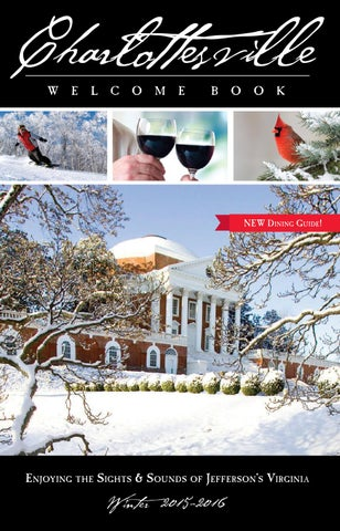 Charlottesville Welcome Book Winter 2015 By Ivy Publications Issuu