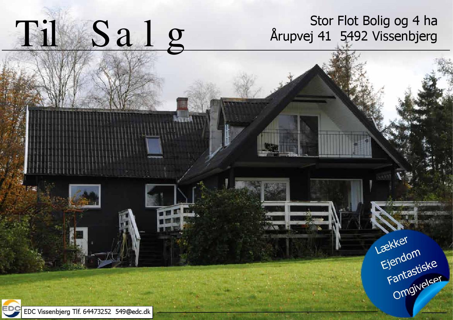 TIL SALG Stor Bolig & 4 ha by Galleri-Hebe.dk - Issuu