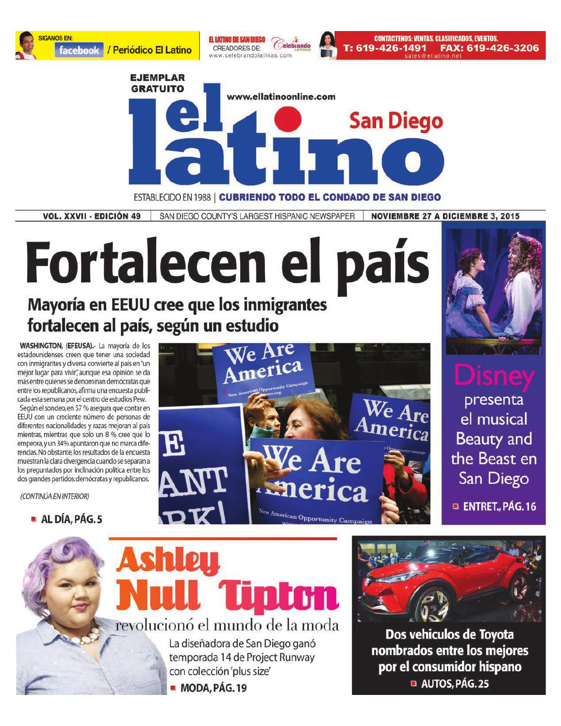El Latino San Diego Newspaper by El Latino San Diego Newspaper - issuu