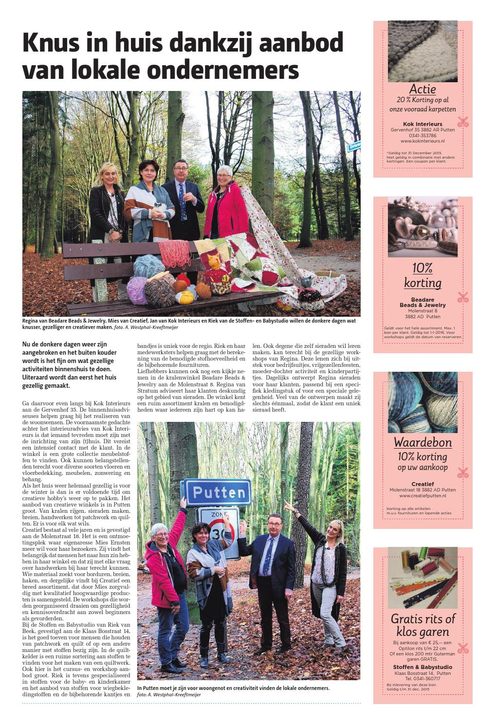 Puttens Weekblad week48 by Wegener - issuu