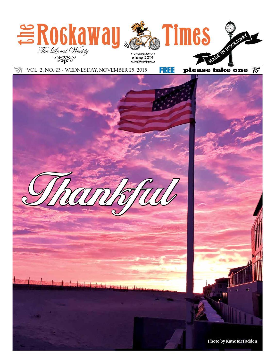 Rockaway Times 11-25-15 by Rockaway Times - issuu