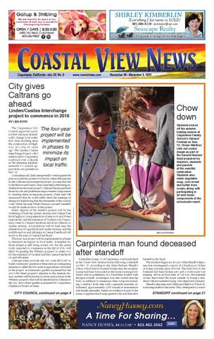 Cvn 112615 By Coastal View News Issuu