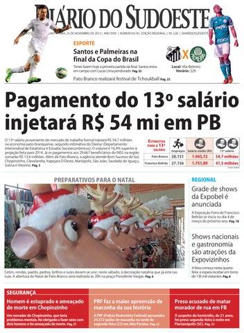 d0d74c20c85c3 Diário do sudoeste 25 de novembro de 2015 ed 6518 by Diário do ...