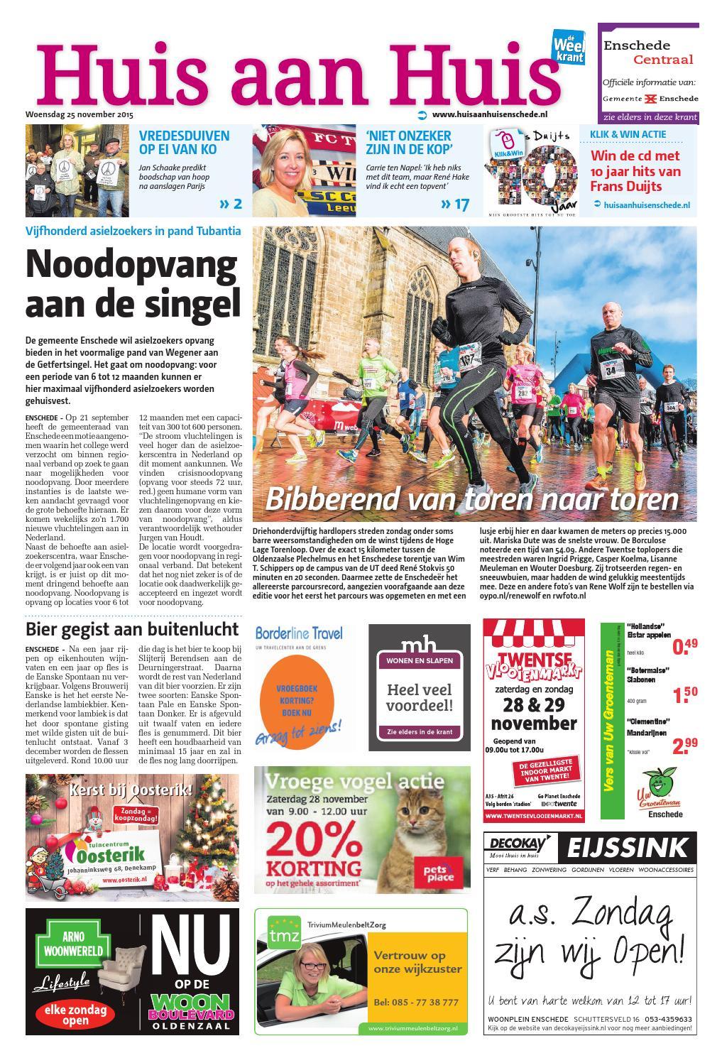 Huis aan Huis week48 by Wegener - issuu