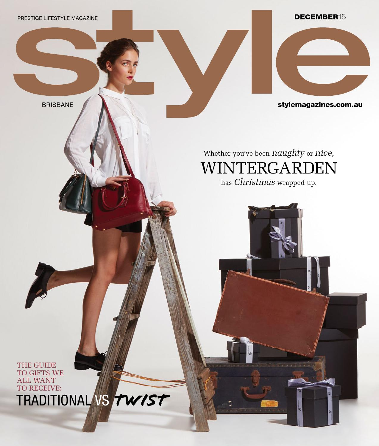 d2603a393b STYLE | December 2015 by Style Media - issuu