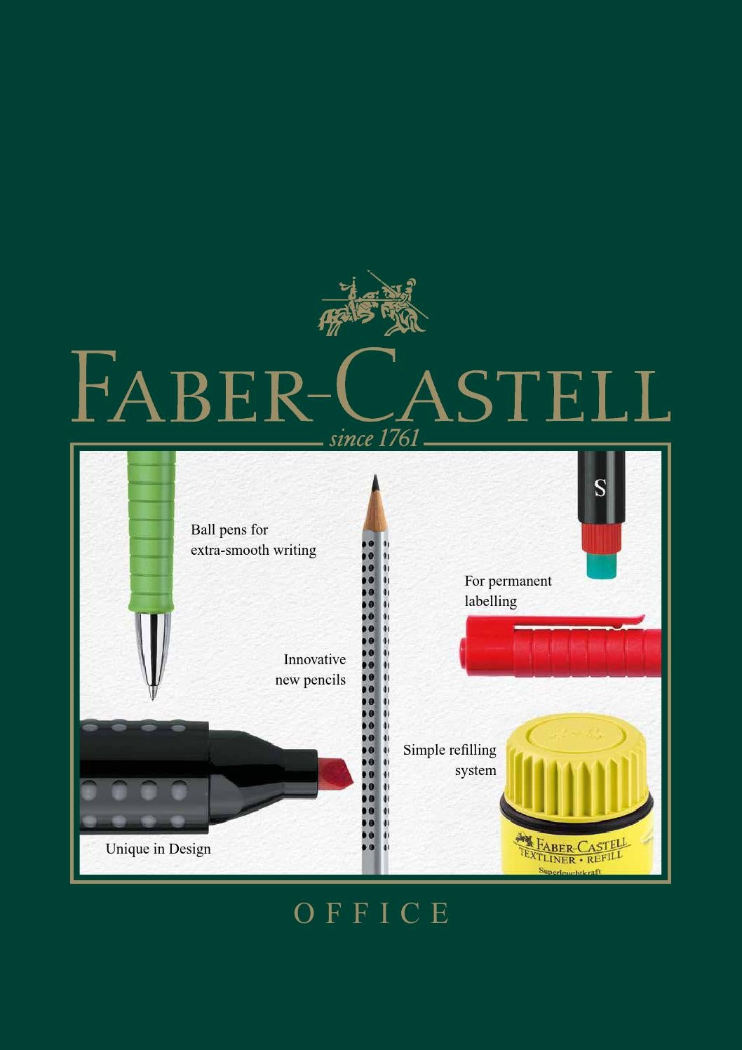Faber Castell TK9400 Clutch Pencil Leads Pack of 10 2mm HB