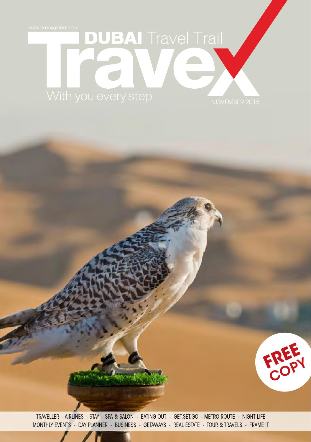 Travex Travel Guide November Issue_2015 by Travex - Dubai