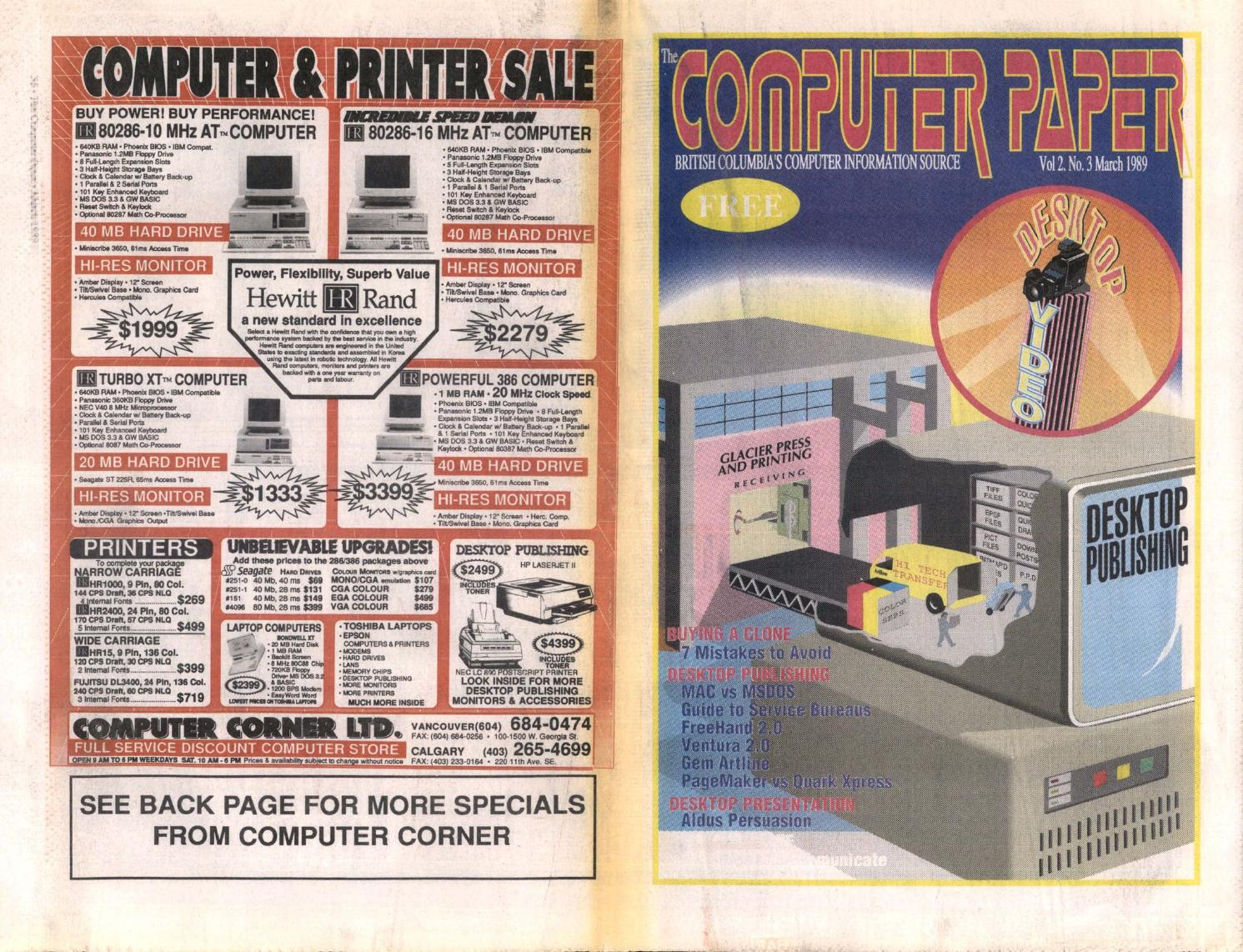 1989 03 The Computer Paper - BC Edition by The Computer Paper - issuu