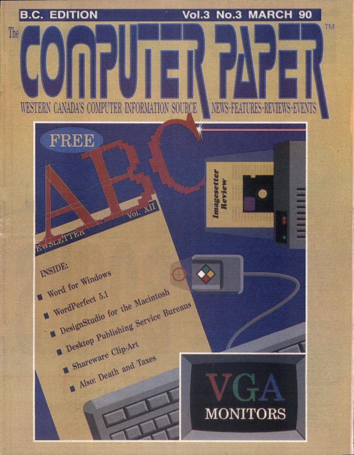 1990 03 The Computer Paper - BC Edition by The Computer