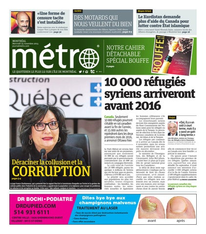 83aa1205fc3e5f 20151125 ca montreal by Metro Canada - issuu