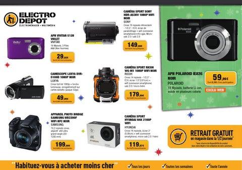 Electrodepot Catalogue 24novembre 20decembre2015 By Promocatalogues