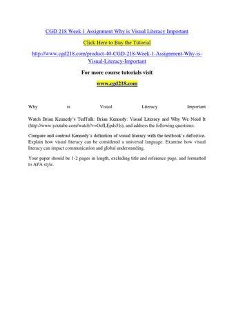 CGD 218 ASH Course Tutorial / Uoptutorial