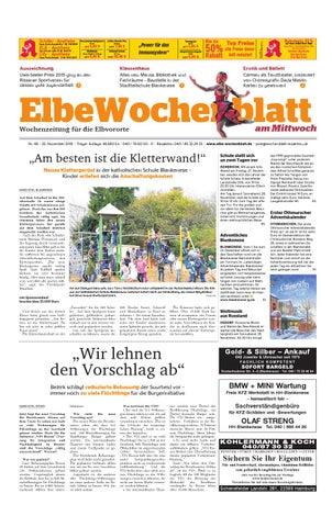 Elbvororte KW48-2015 by Elbe Wochenblatt Verlagsgesellschaft mbH ...