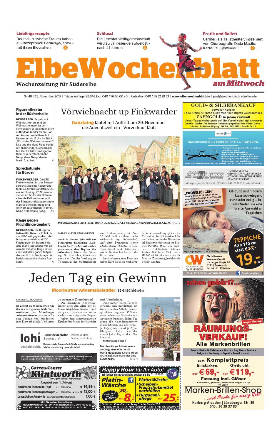 Süderelbe KW48-2015 by Elbe Wochenblatt Verlagsgesellschaft mbH & Co ...