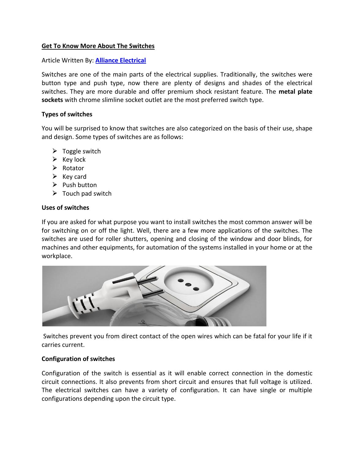Get to know more about the switches by Alberto Lee - issuu