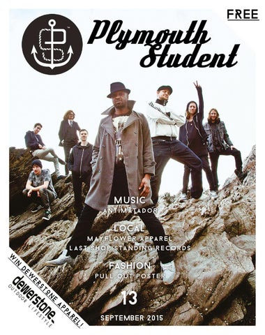 0613c22326b Plymouth Student Issue Thirteen - September 2015 by Plymouth Student ...